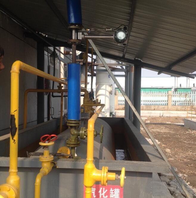 我司涡街亚博vip6应用于蒸汽的测量